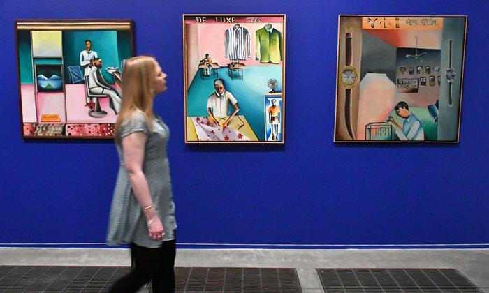 "Tate Modern's ""Bhupen Khakhar"