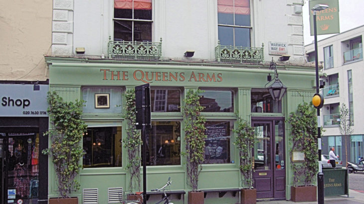The Queens Arms Pub | London Hotel
